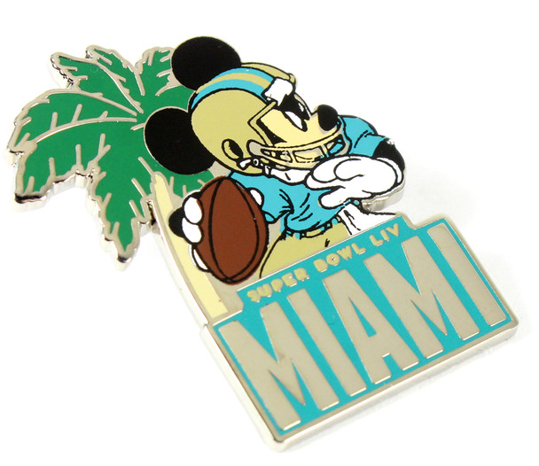Super Bowl LIV (54) Mickey Mouse Disney Pin