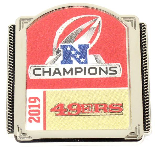 San Francisco 49ers 2019 NFC Champs Pin