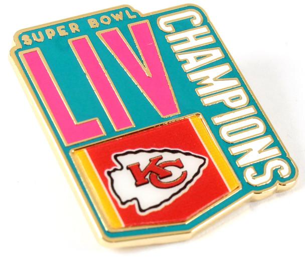 Kansas City Chiefs Super Bowl LIV (54) Champions Pin