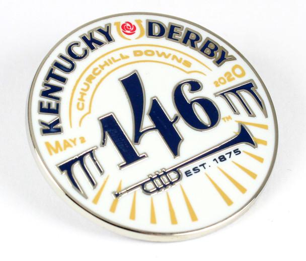 2020 Kentucky Derby 146 Logo Pin - May 2, 2020