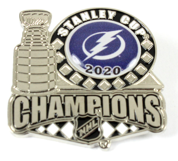 Tampa Bay Lightning 2020 Stanley Cups Champs Trophy Pin