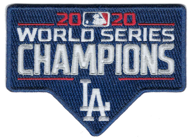 """Los Angeles Dodgers 2020 World Series Champs PATCH - 3.5"""""""