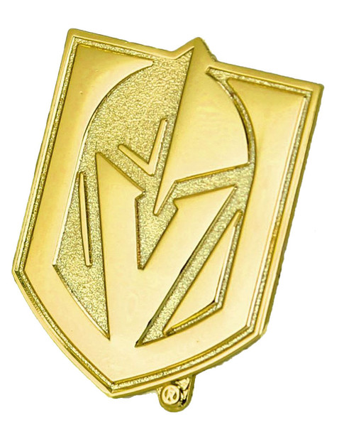 Vegas Golden Knights Gold Plated Logo Pin