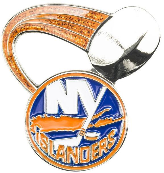 New York Islanders Glitter Trail Pin