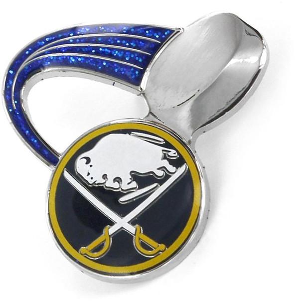 Buffalo Sabres Glitter Trail Pin