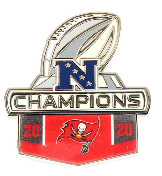 Tampa Bay Buccaneers 2020 NFC Champions Pin