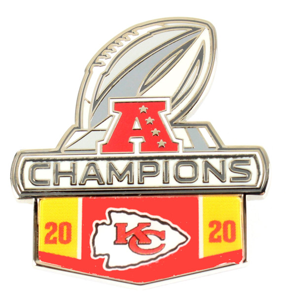 Kansas City Chiefs 2020 AFC Champions Pin