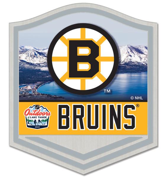 Boston Bruins - Outdoors At Lake Tahoe Dueling Pin
