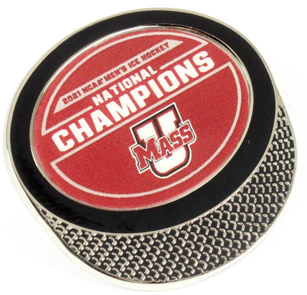 University of Massachusetts 2021 Men's Frozen Four Champs Pin