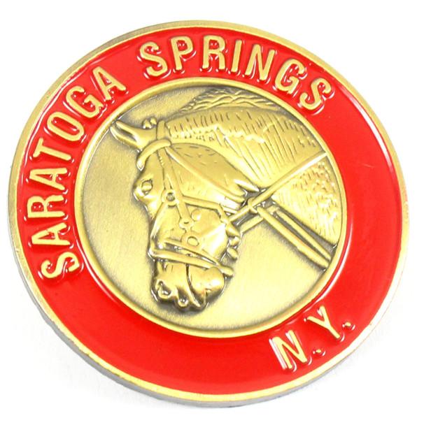 Saratoga Spring, N.Y. Horseracing Pin