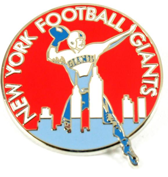 New York Giants Vintage Logo Pin