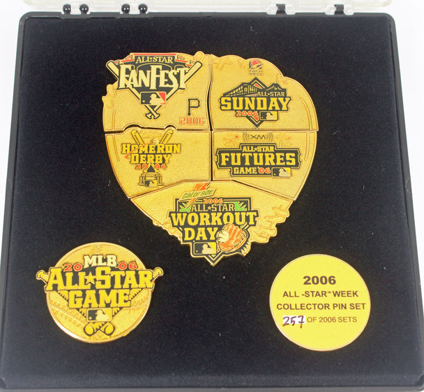 2006 MLB All-Star Game Puzzle Pin Set - Limited 2,006
