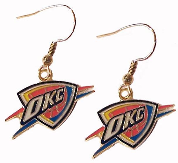 Oklahoma Thunder Earrings