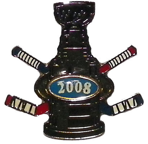 2008 Stanley Cup Trophy Pin - Cup Crazy