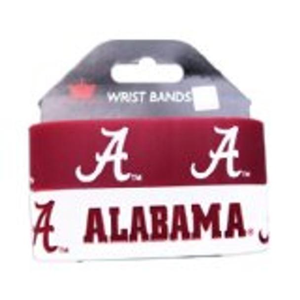 Alabama Wide Wristbands (2 Pack)
