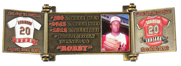 Frank Robinson Hall of Fame Career Pin - Limited Edition 1,982