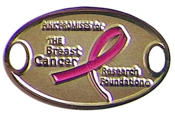Breast Cancer Research Foundation Medallion - Pink Ribbon