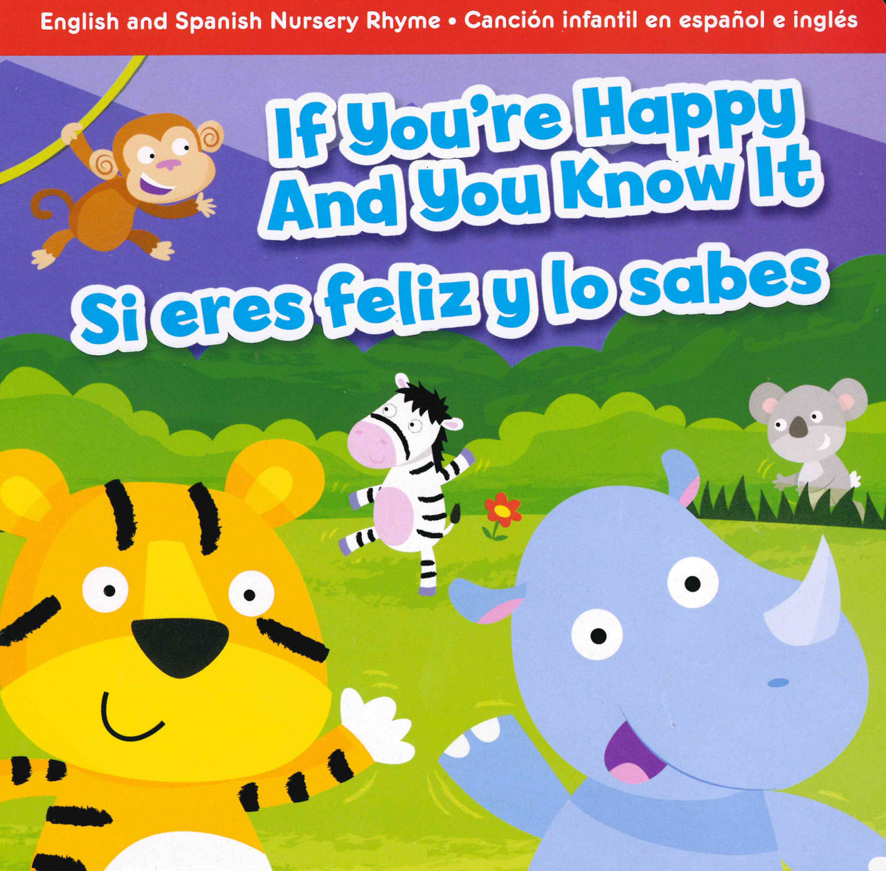 If You Re Happy And You Know It Spanish English Board Book Books By The Bushel Llc