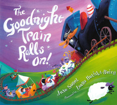 The Goodnight Train Rolls On! (Board Book)- Clearance Book