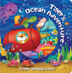 Tiger's Ocean Adventure (Board Book)- Clearance Book