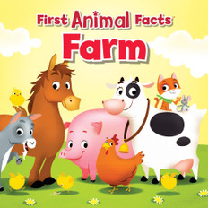 Farm: First Animal Facts (Board Book)