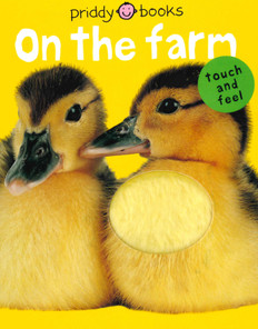 On The Farm: Touch and Feel (Board Book)- Clearance Book