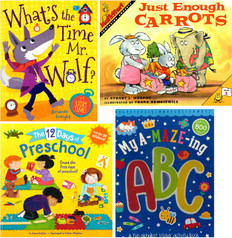 Perfect for Preschool! Set of 4