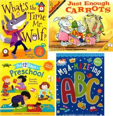 Perfect for Preschool! Set of 4