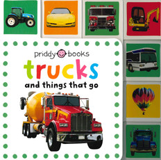 Trucks & Things That Go: Mini Tab Book (Board Book)
