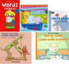 VALUE Bundle- 50 Books  Ages 1-5 Years (Spanish/English)
