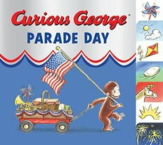Curious George Parade Day (Board Book)- Clearance Book