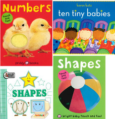 Numbers and Shapes! Set of 4 (Board Book)