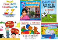 March Into Spring Bilingual Reading Challenge! Set of 6 (Spanish/English)