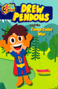 Drew Pendous and the Camp Color War (Paperback)- Clearance Book