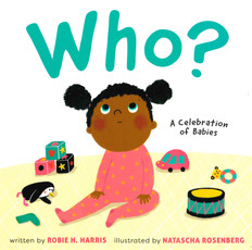 Who? A Celebration of Babies (Board Book)- Clearance Book