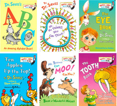 Dr. Seuss Reading Challenge!  Set of 6 (Board Book)