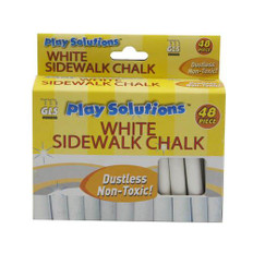 White Sidewalk Chalk (48 Piece)