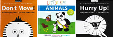 See & Say Animals Set of 3 (English, French, Spanish) (Board Book)