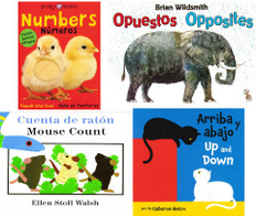 Opposites & Numbers (Spanish/English) Set of 4