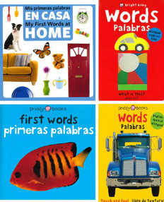 First Words (Spanish/English) Set of 4