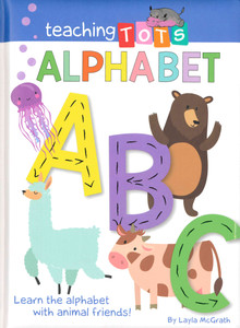 Teaching Tots Alphabet (Padded Board Book)-Clearance Book