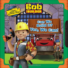 Can We Build It? Yes, We Can!  Bob The Builder (Paperback)- Clearance Book