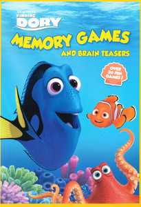 Finding Dory Memory Games and Brain Teasers (Paperback)