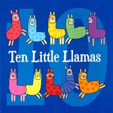 Ten Little Llamas (Paperback)