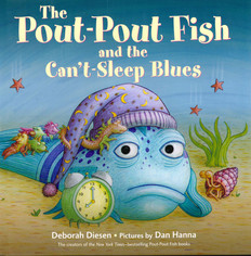 Pout-Pout Fish and the Can't-Sleep Blues (Hardcover)