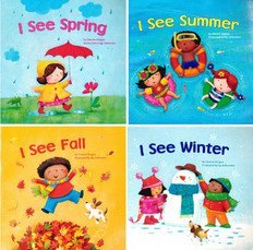 Reading Through the Seasons! Set of 4 (Paperback)