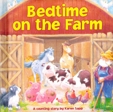 Bedtime On The Farm (Padded Board Book)- Clearance Book
