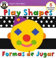 Play Shapes (Spanish/English) (Board Book)
