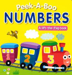 Peek-A-Boo Numbers (Board Book)