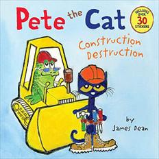 Pete the Cat: Construction Destruction (Paperback)